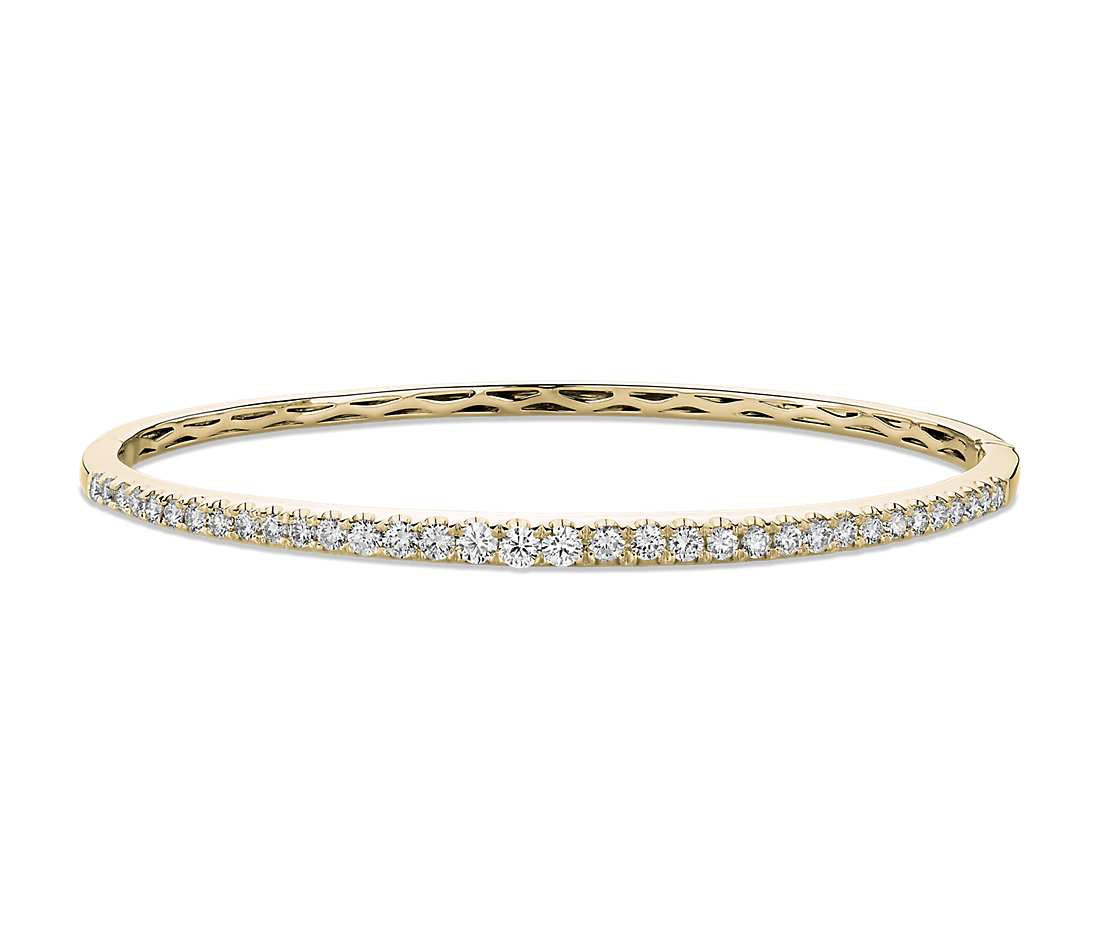 , Diamond Bangle Bracelet
