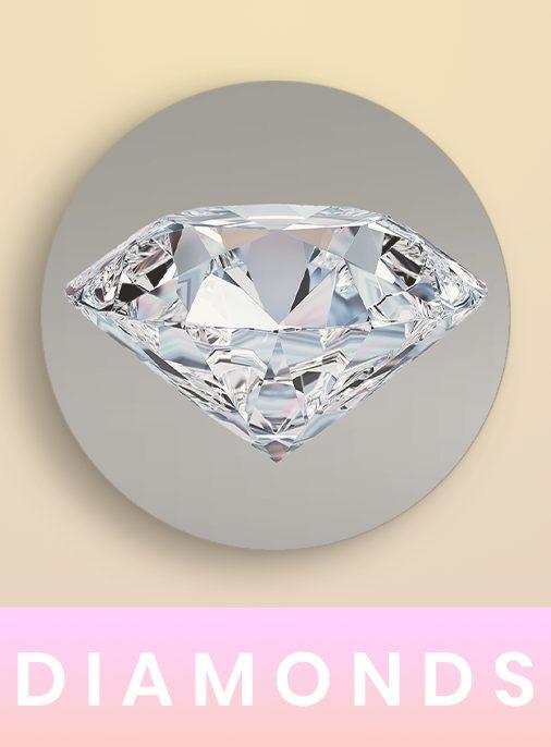 mega menu diamonds