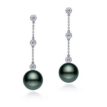 , Dangle Pearl Earrings
